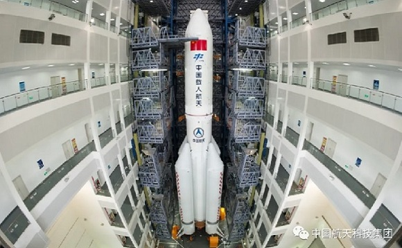 China wants to complete its new space station by 2022. Image by Sudong via weixin.qq.com
