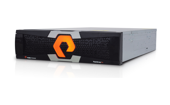 Pure Storage flash array