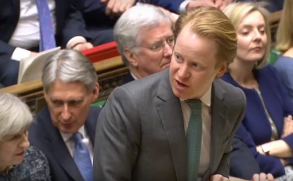 Ben Gummer, the former Cabinet Office minister, in happier times...