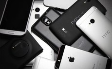 All the best smartphones money could buy - in 2013. Stock image