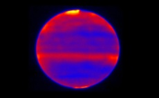 Heating caused by solar winds on Jupiter extends into its stratosphere, new observations reveal