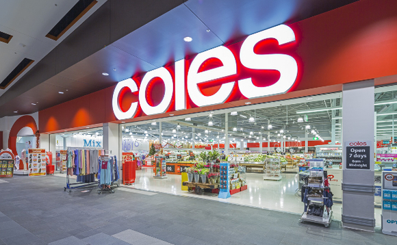 A Coles supermarket in Australia. Image copyright Coles Group