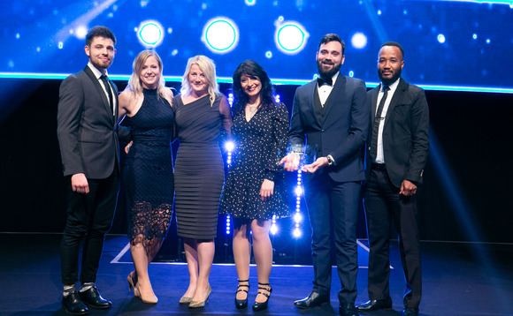 Nutratech at the UK IT Industry Awards 2018