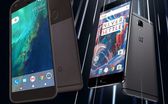 Google Pixel XL vs OnePlus 3 specs comparison