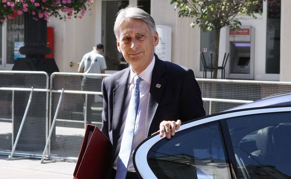 Chancellor Philip Hammond. Stock photo