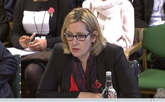 Amber Rudd wants technology companies to bring an end to end-to-end encryption
