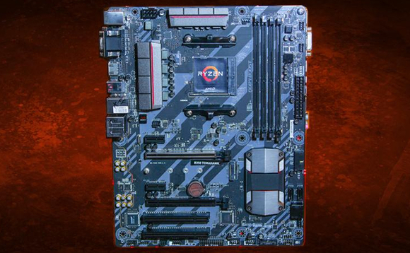 AMD X399 platform AM4 Ryzen motherboard
