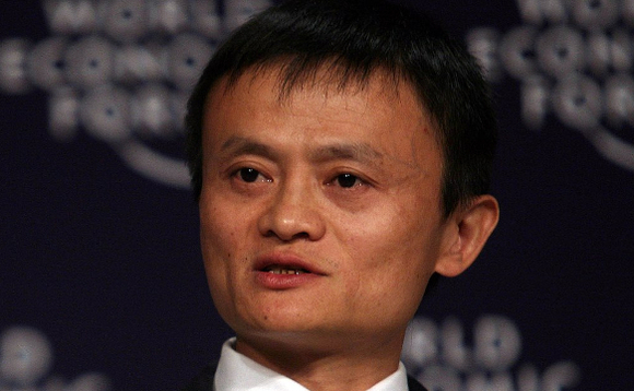 Jack Ma, pictured at the World Economic Forum in 2008. Image via Wikipedia