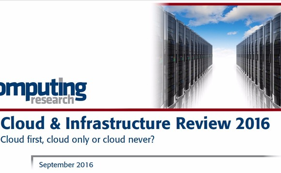 Computing Cloud & Infrastructure Review 2016