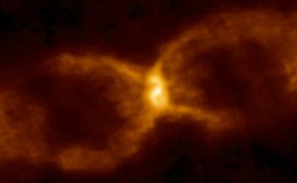 UK researchers claim 1670 Nova Vulpeculae was a white dwarf and a brown dwarf star colliding