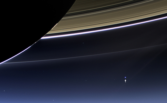 NASA craft captures Earth and the moon from 1.5 billion kilometres away