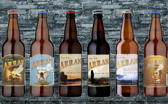 A selection of Arran Brewery beers
