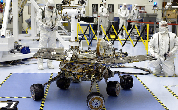 NASA's Mars Opportunity rover jeopardised in dust storm the size of North America