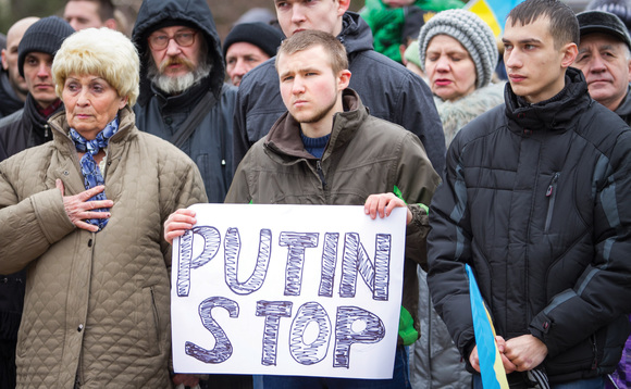 A message from persons unknown to Russian president Vladimir Putin