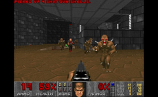 Battling AIs build new Doom levels