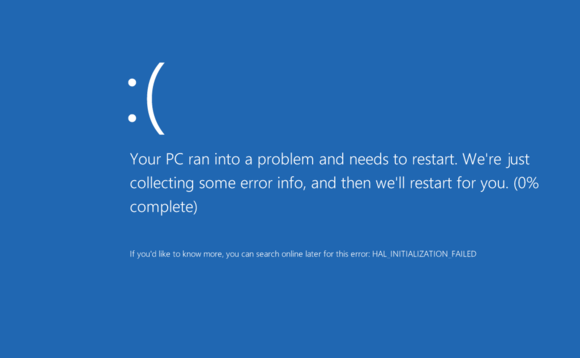 Microsoft updated the BSOD for the twenty-first century when it released Windows 10