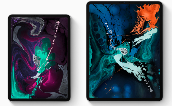 The Apple iPad Pro 11-inch and 12.9-inch models side by side