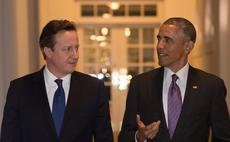 Cameron and Obama reveal plans for UK and US to stage 'cyber war games' to boost cyber defences