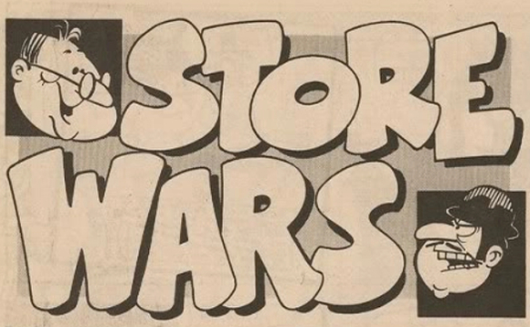 Store Wars - from the comic Whizzer and Chips. Image copyright Fleetway/Egmont plc