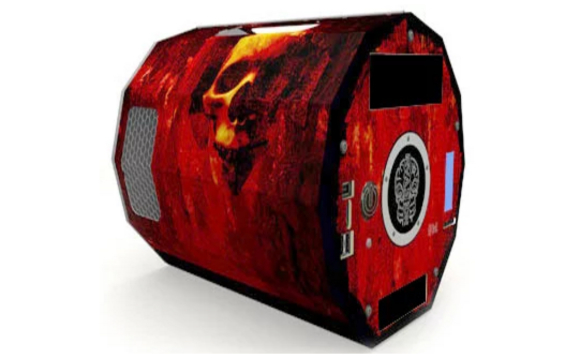 Believe it or not, this isn't the garbage pod from Red Dwarf, but an actual PC case you can buy
