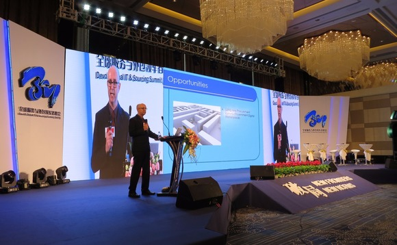 David Munn recently told delegates at a conference in China that big outsourcing deals were dead