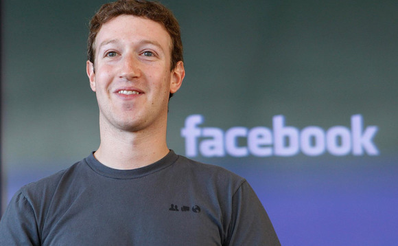 Facebook founder and CEO Mark Zuckerberg. Stock photo.