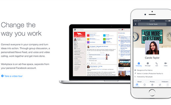 Facebook to take on Slack, Yammer and even email with Workplace by Facebook
