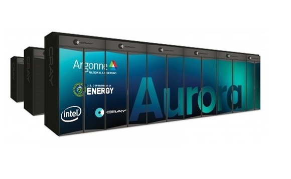 Aurora supercomputer will perform one quintillion calculations per second. Image: US DOE