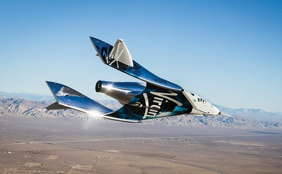 In December 2018, Virgin Galactic space plane successfully reached 82.7 kilometres above the surface of Earth. Image: Virgin Galactic