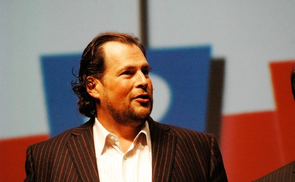 Salesforce.com CEO Marc Benioff, who was outbid by Microsoft for LinkedIn