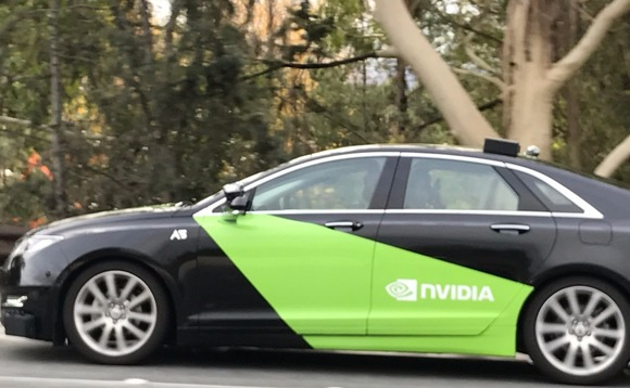 Nvidia has touted its GPUs for use in self-driving vehicles and other non-PC applications