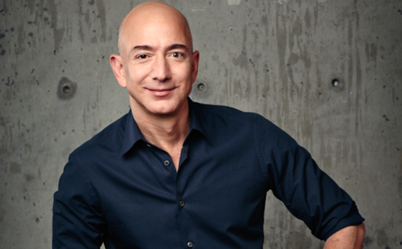 Bezos - not doing badly for himself