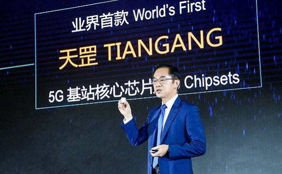 Huawei executive director Ryan Ding