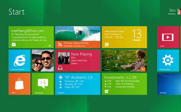 Review: Windows 8 Developer Preview