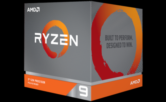 The box the AMD Ryzen 9 3950X will come in when it is eventually released